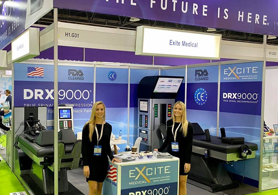 Excite Medical displays the DRX9000® at Arab Health 2020